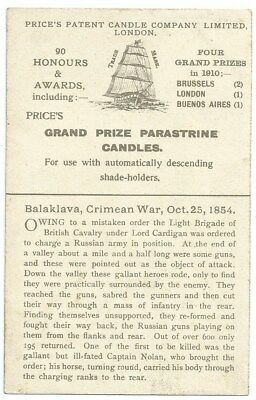 Vintage Advertising Postcard. Grand Prize Parastrine Candles. Unused. Ref:7-60
