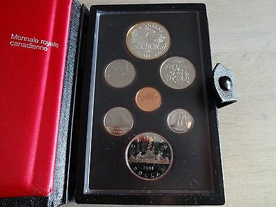 original Münzsatz - Royal Canadian Mint - Elisabeth II - 1981