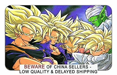 Dragon Ball Z Mousepad Playmat Super Saiyan Goku Gohan Trunks Vegeta Piccolo