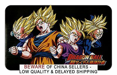 Dragon Ball Z Mousepad Playmat Super Saiyan Goku Gohan Trunks Vegeta DBZ Manga