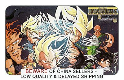 Dragon Ball Z Mousepad Playmat Super Saiyan Goku Trunks Vegeta C-16 Gohan Krilin