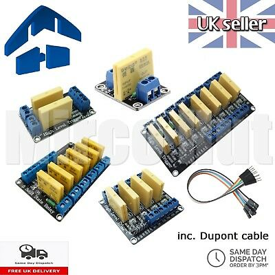 3-32V 5A DC to DC SSR Solid State Relay Module Board - Arduino Raspberry Pi PIC