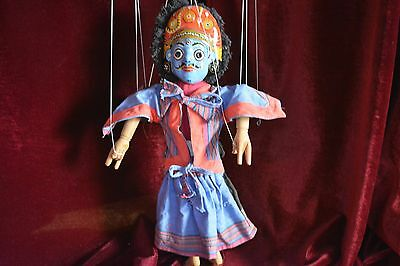 Nepalese Double Sided Marionette Deity
