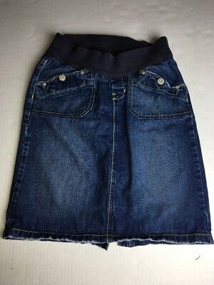 OLD NAVY Maternity Denim Straight Skirt Size 6.