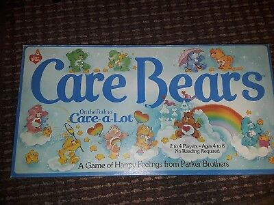 """Vintage 1983 Parker Brothers """"Care Bears"""" On The Path To Care-a-lot Board Game!"""