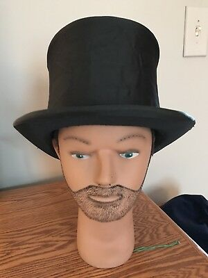 Vintage Very Early Collapsible Silk Top Hat !