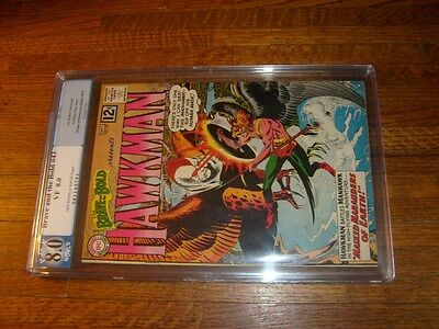 Brave And The Bold #43, Hawkman, Pgx Graded 8.0 Veryfine