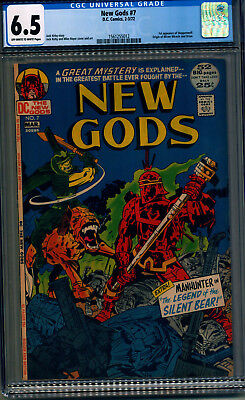 The New Gods #7 CGC 6.5 (Feb-Mar 1972, DC) 1st Steppenwolf