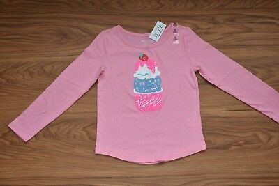 Girls Active Long Sleeve Embellished Graphic Top CHILDREN'S PLACE (SIZE 5/6)
