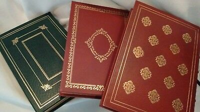 Leather Bound First Edition Books by Franklin Library