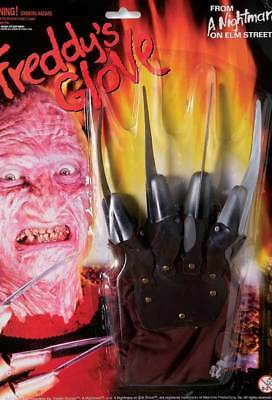Freddy Krueger Glove Costume Accessory Genuine Forum Novelties - New