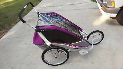 Chariot Cougar 2 Double Bike Child Carrier Multi-Sport JOGGER ONLY Stroller