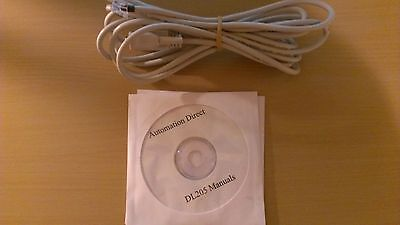 Programming Cable D2-DSCBL with Software and Manuals for Automation Direct 205