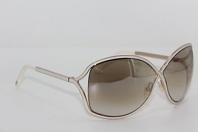 Tom Ford Tf 179 28G Rickie White Gradient Sunglasses Authentic 64-11 W/case