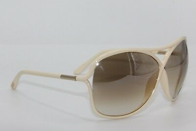New Tom Ford Tf 184 25G Vicky White Gradient Sunglasses Authentic 65-10 W/case