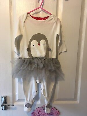 Mothercare Christmas Baby grow Girls 9-12 Months
