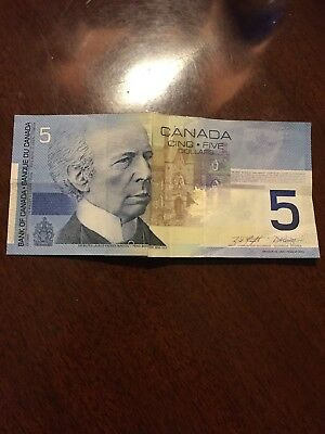 Five dollar note Canada 2002 - Canadian 5 dollar