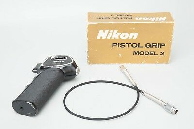 Nikon Pistol Grip Model 2 w/ Shutter Release Cable, Boxed