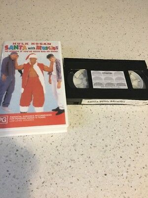 Santa With Muscles  -  Hulk Hogan -   Vhs Video