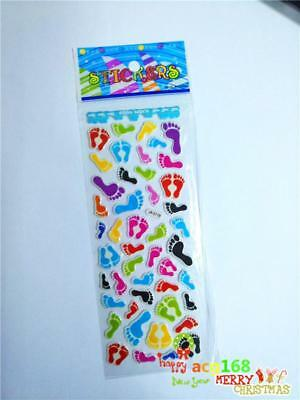 Alive Cartoon Stickers Doll Craft Xmas Foot Scrapbooking 1pc Kid Party Toy Gifts
