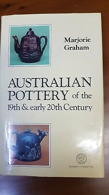 """AUSTRALIAN POTTERY OF 19th EARLY 20th CENTURY """"MARJORIE GRAHAM REFERENCE BOOK"""