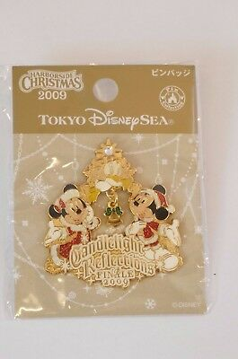Tokyo Disney Resort Pin TDS Christmas Candlelight Reflections Finale 2009 TDR