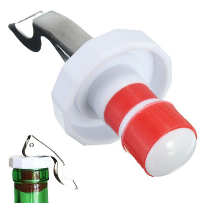 Useful Stainless Steel Wine Bottle Stopper Plug Sparkling Champagne Sealer Tool
