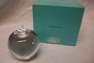 Mela in cristallo fermacarte Tiffany & Co.,  Apple Paperweight crystal