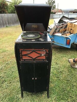 Antique Salonola Free Standing Record Player