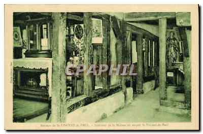 Vintage Postcard Cradle of St Vincent of interior Paul of the House or was born