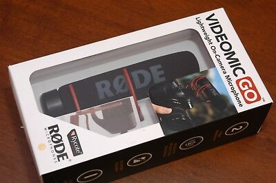 Rode VideoMic GO Handheld Wired - 3.5 mm Professional Microphone