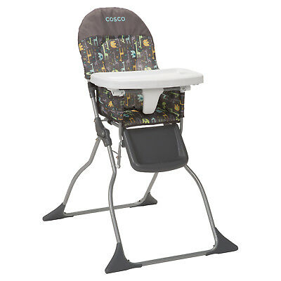 3-position Compactable Baby Eating Easy Folding Simple Fold High Chair New