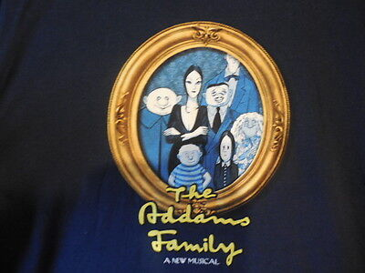 ADDAMS FAMILY TEE SHIRT - LOT OF 2 Christmas Gift for someone?     - NEW -