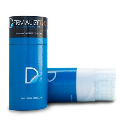Dermalize Pro Roll Tattoo Aftercare Coverup Film - 10 Meter Roll