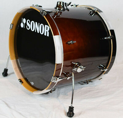 "Sonor Bassdrum ESF 2017 BD WM Brown Fade 20"" x 17"""