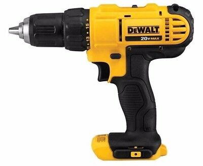 "New Dewalt 20 Volt Max Lithium Ion 1/2"" Drill Driver Bare Tool Model # DCD771"