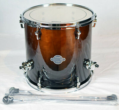"""Sonor Essential Force Floor Tom ESF 1414 FT Brown Fade 14"""" x 14"""""""