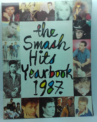 Smash Hits Yearbook 1987, Unclipped and good condition