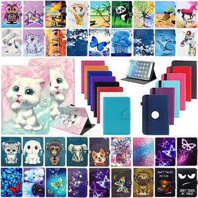 For Amazon Kindle Fire HD 10 10.1'' 7th Gen 2017 Universal Leather Folio Case