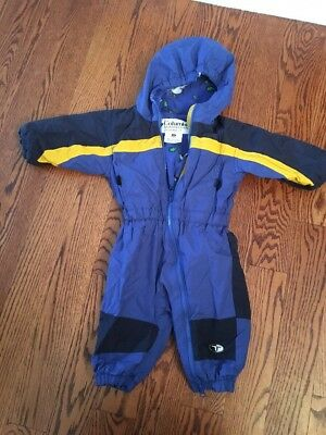 Little Boys Blue And Yellow Winter Snowsuit From Columbia Size 18 Month