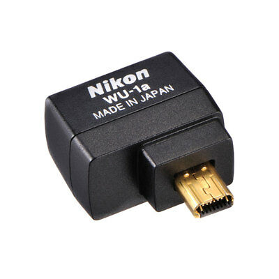 Nikon WU-1a Wireless Mobile Adapter for D3200 D3300 D5200 D5300 D7100 Camera