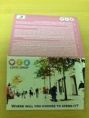 1 x Love2Shop giftcard £25