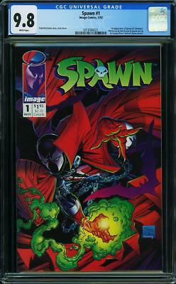 Spawn #1 (1992) CGC (not CBCS) NM/MT 9.8 Todd McFarlane Image New Holder 1st app