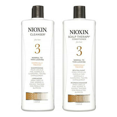 NIOXIN System 3 Cleanser & Scalp Therapy Duo 33.8 oz