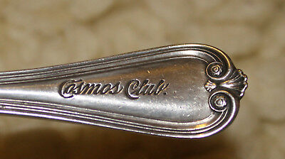 Cosmos Club Antique seafood forks & spoon lot 8 RARE Private Club Washington DC