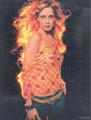 Chely Wright, Country Music Star in 2002 Magazine Print Photo Clipping