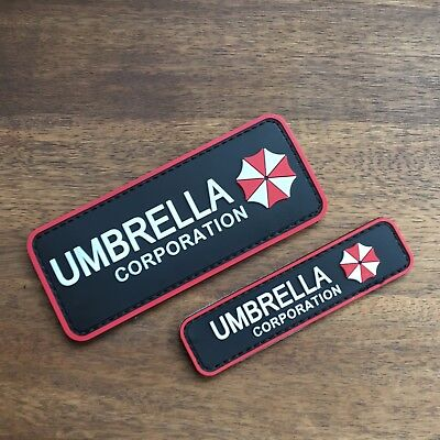 Resident Evil Umbrella Corporation Rubber Patch Gaming Merchandise NEU *