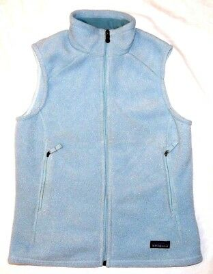 Patagonia Synchilla Fleece Light Blue Vest Womens Sz M
