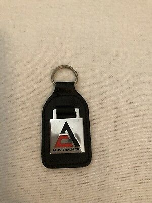 Vintage Allis Chalmers Pyramid AC Logo Key Ring in great condition