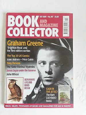 Book & Magazine Collector - N0. 247  - OCT.  2004 - GRAHAM GREEN
